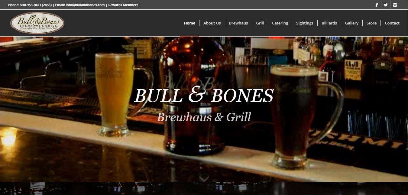 Bull and Bones Brewhaus & Grill